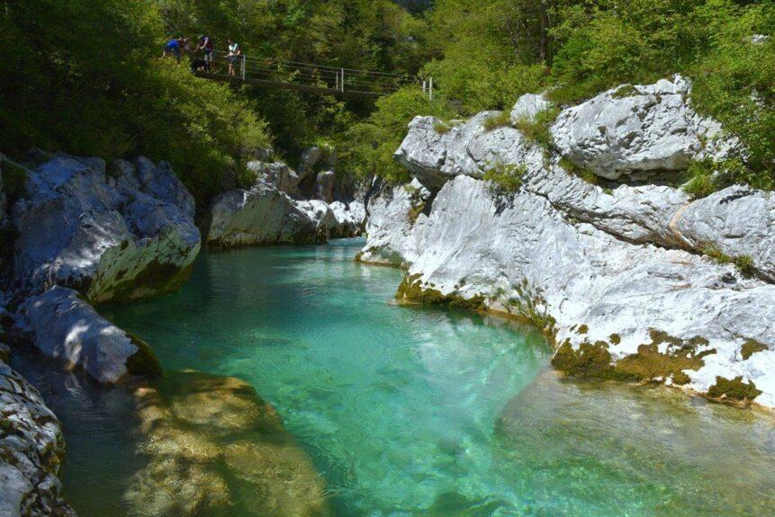 Словения, река Коритница