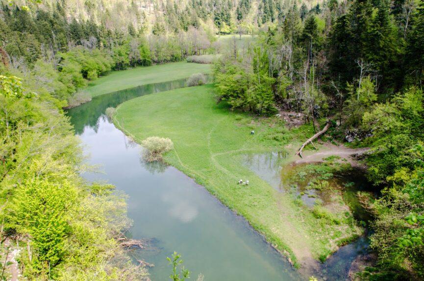 Река Рак в долине Раков Шкоцьян