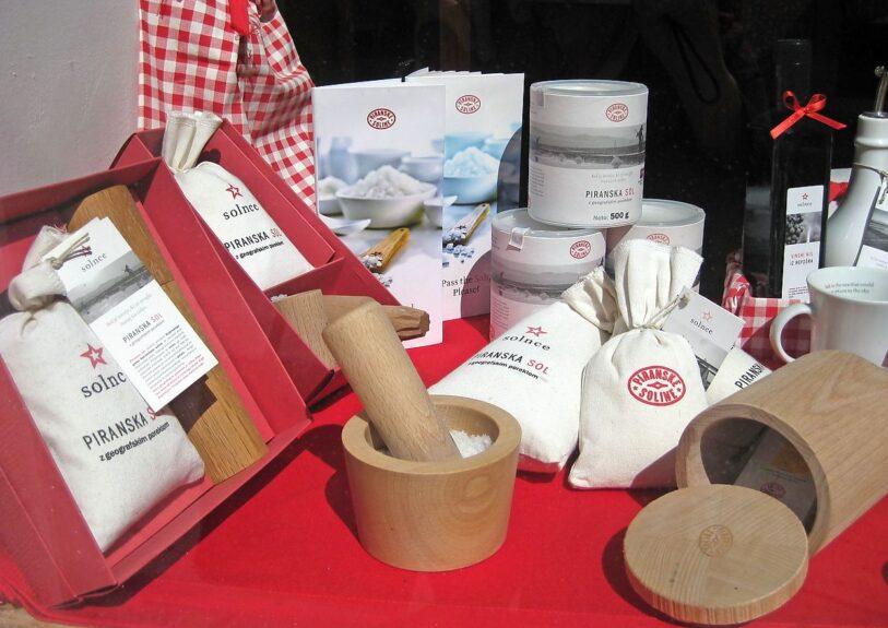 Изделия из Пиранской соли