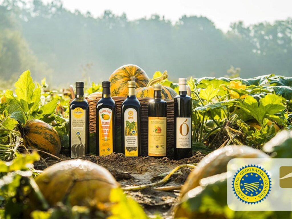 Тыквенное масло из Словении