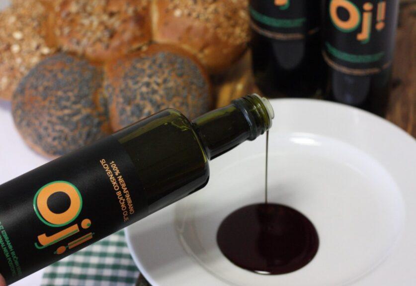 Цвет словенского тыквенного масла