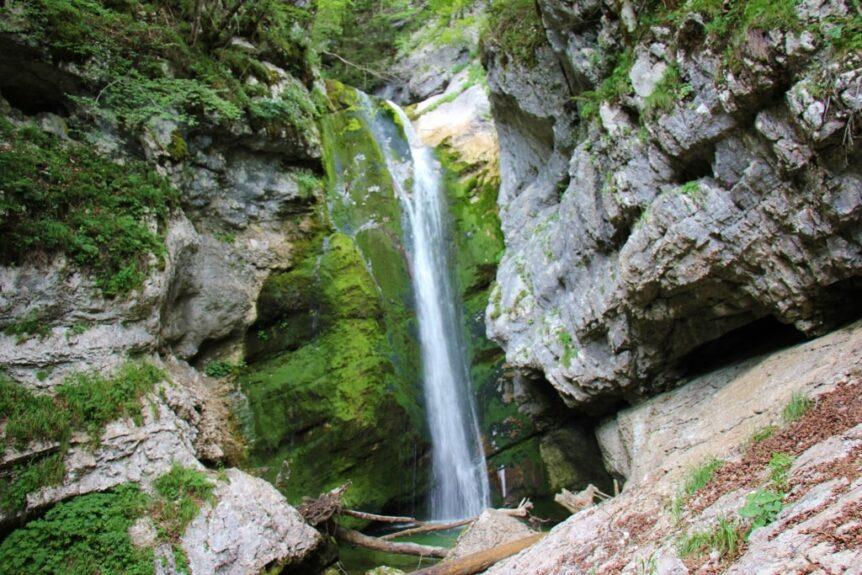 Водопад Войе и каньон Млостницы