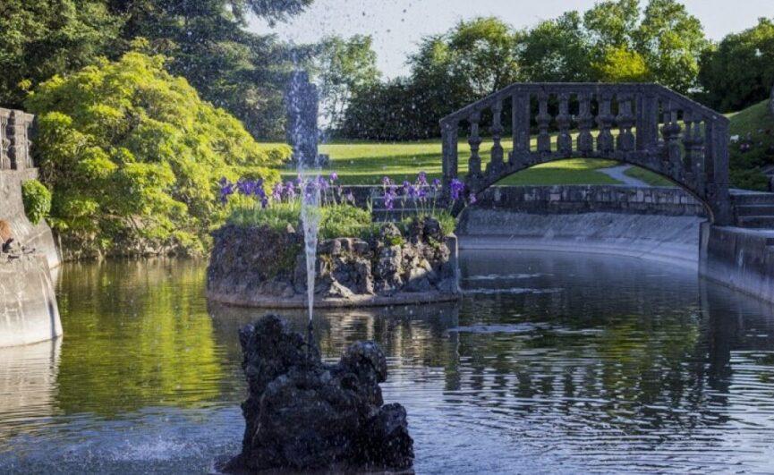 Штаньел, фонтан в саду Феррари