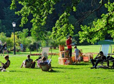 Отдых в парке Тиволи