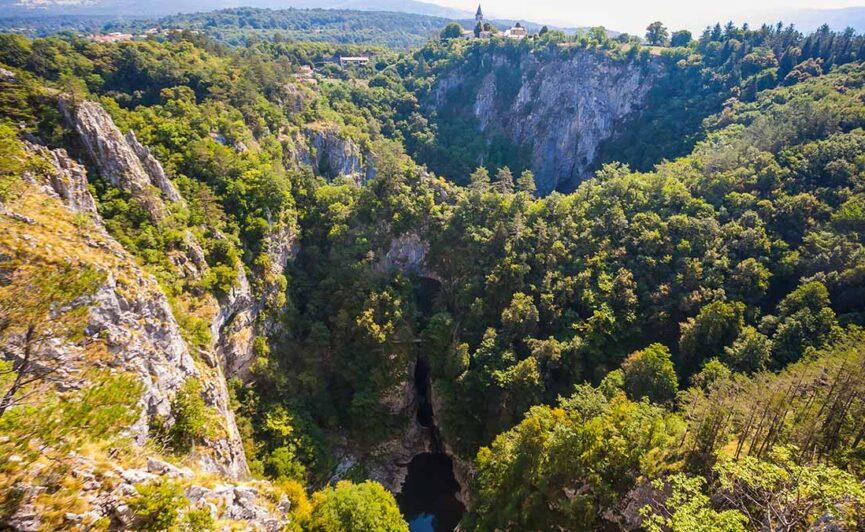 Парк Шкоцьянские пещеры