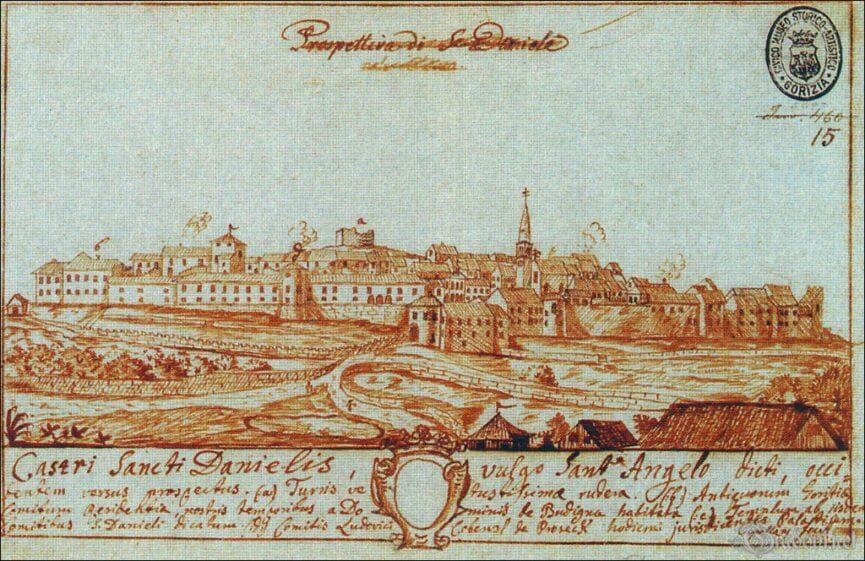 Штаньел в 1700 году