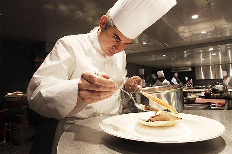 Шеф-повар Бенуа Виолье