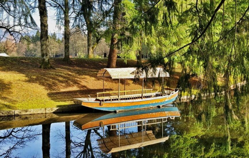 Озера в парке Брдо