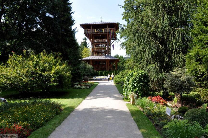 Смотровая башня в Мозирье