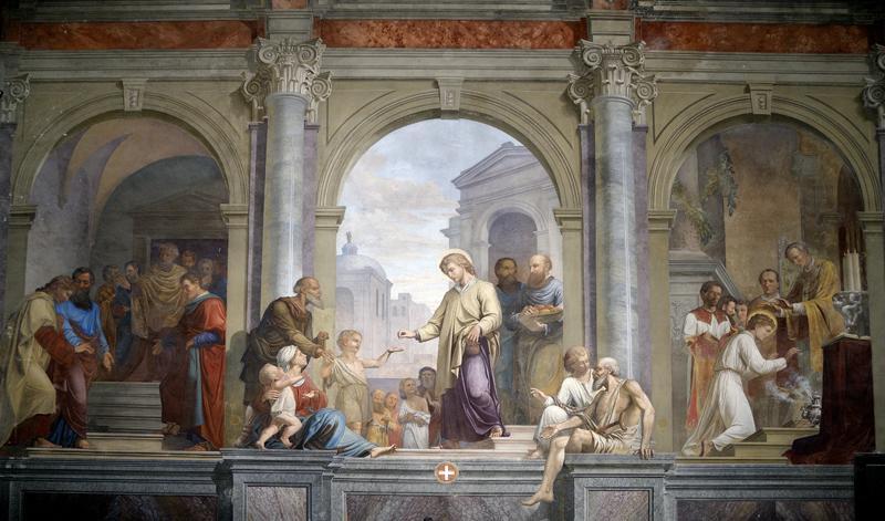 Фрески церкви св. Штефана в Випаве