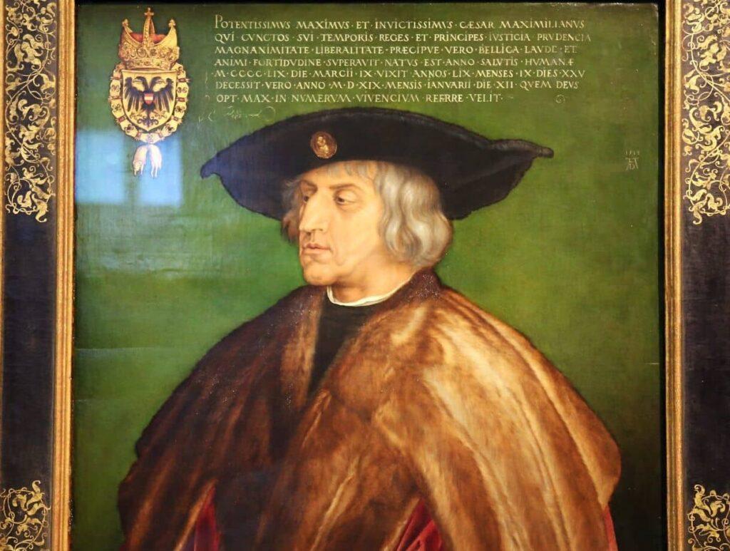 Император Максимилиан I Габсбург