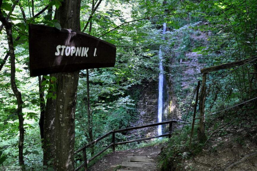 Водопад Стопник 1