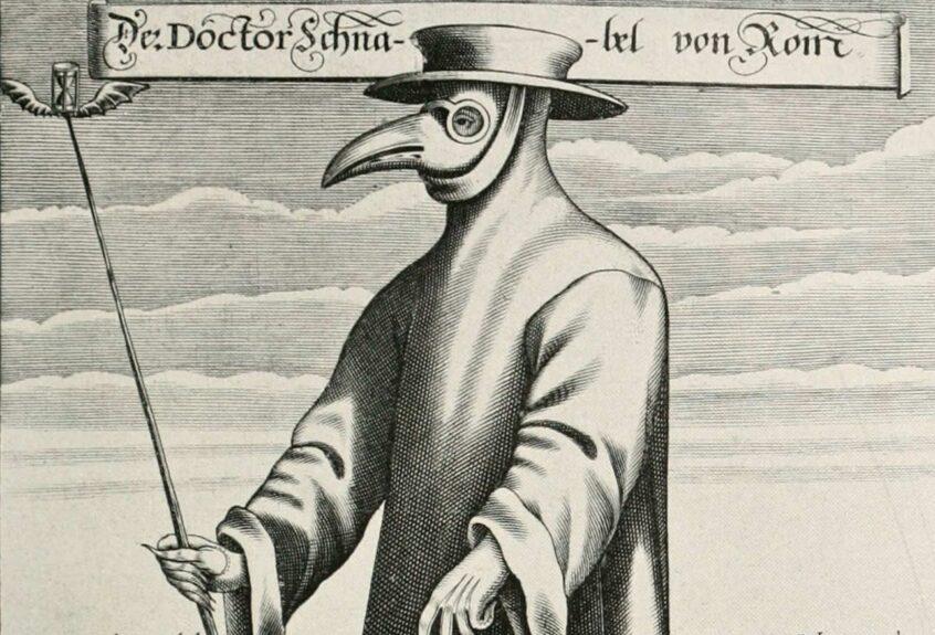 Доктор чума. Одежда врача во время эпидемии чумы