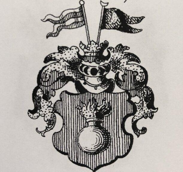 Герб Веги, право на который он получил в 1800 году