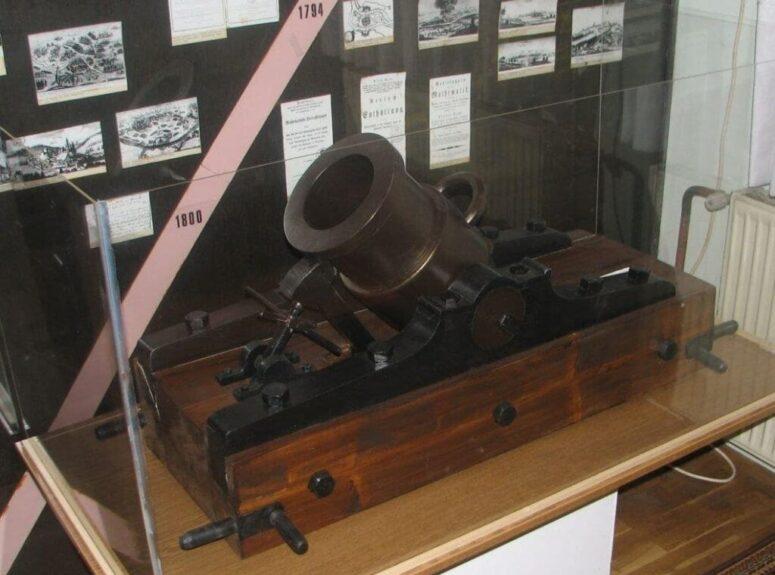 Пушка времен австрийских войн