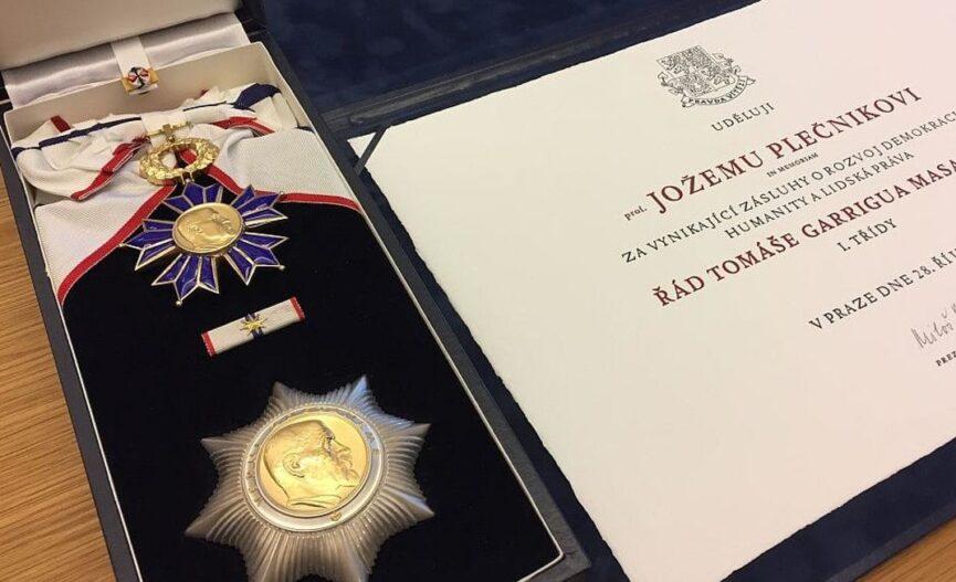 Чешская награда Йоже Плечника