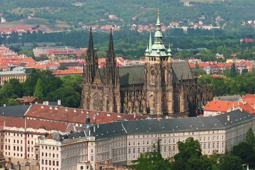 Градчаны и Пражский Град, архитектор Йоже Плечник