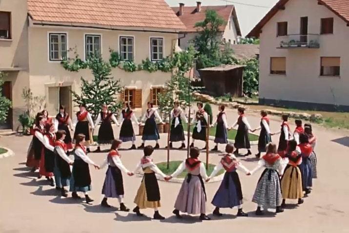 Словенский народный танец из Белой Крайны