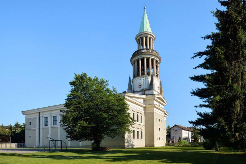 Церковь св. Францичка в Любляне, архитектор Й. Плечник