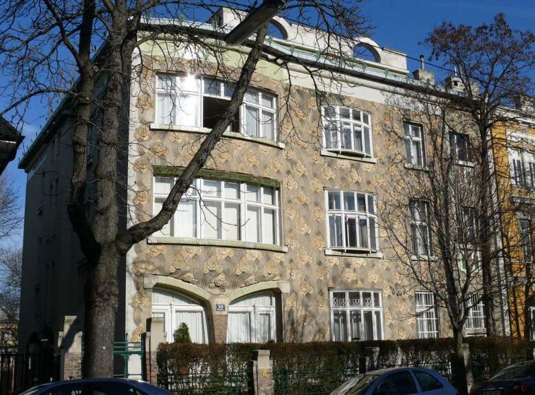 Villa Langer, Вена, архитектор Йоже Плечник