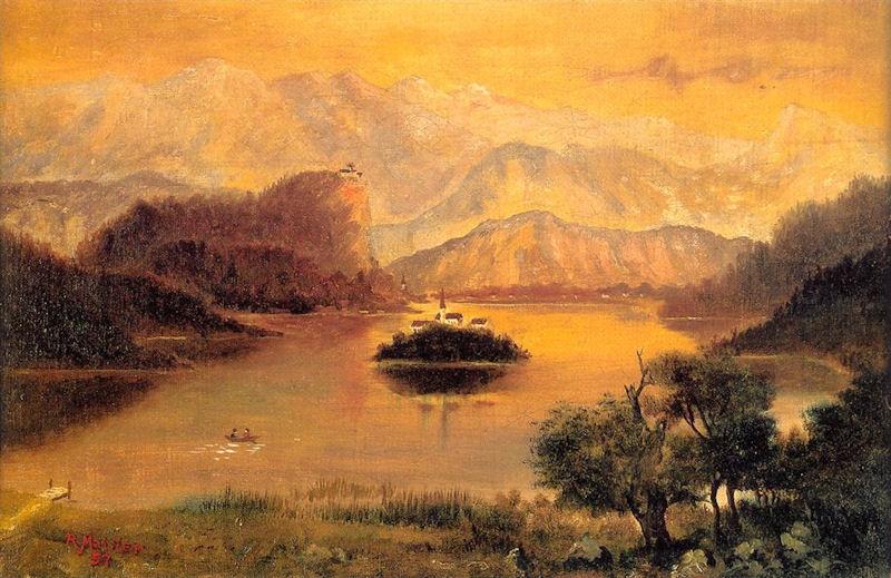 Самая известная картина Рудольфа Майстера «Блед»