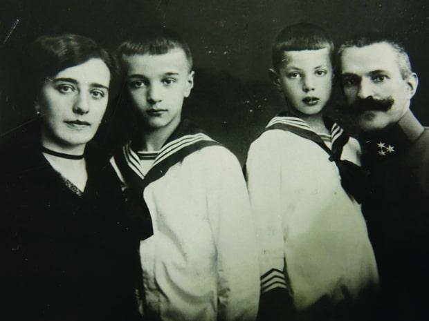 Семья Рудольфа Майстера