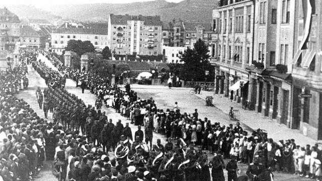 Похороны Рудольфа Майстера в Мариборе