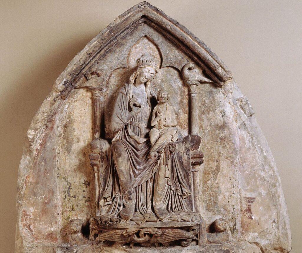 Крижанке, Краковская Мария с младенцем