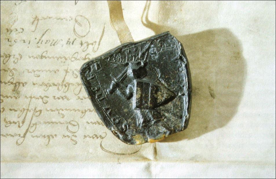 Печать Урлиха II Жовнешкого